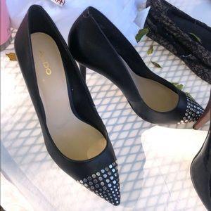 Size 9 Aldo Stud Heels